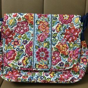 NWOT Vera Bradley Messenger Bag Hope Garden